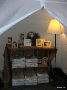 Our Secret Tent